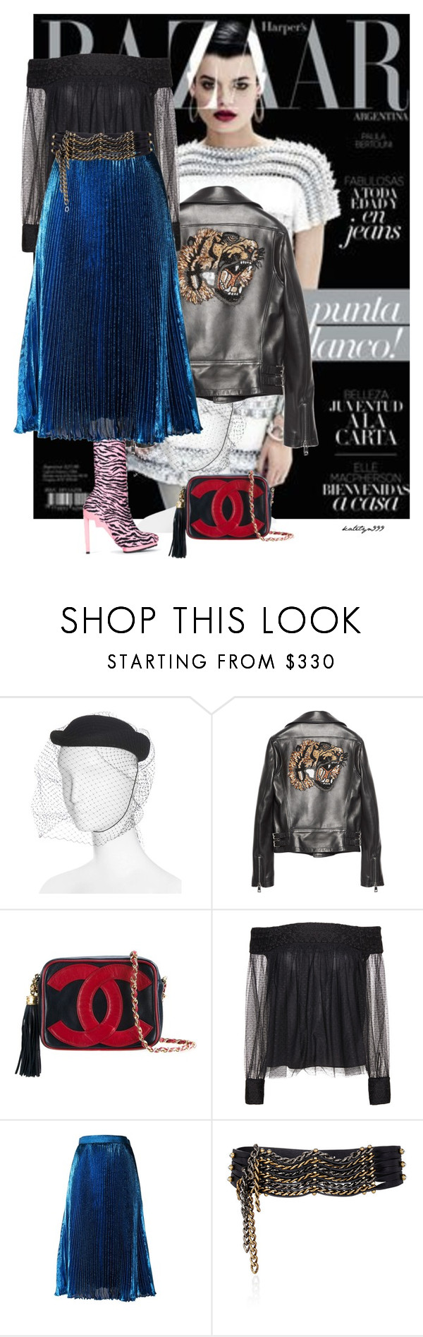 """""""..."""" by katelyn999 ❤ liked on Polyvore featuring Gucci, Chanel, Alice + Olivia, Christopher Kane and Lanvin"""