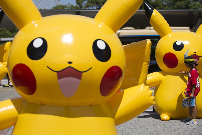 Pokémon quietly launches new gaming app Pokemon go gym