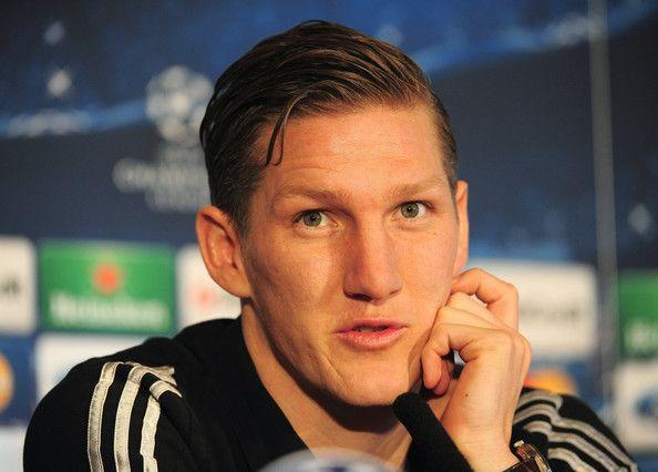Bastian Schweinsteiger Photos - FC Bayern Muenchen Training and Press Conference - Zimbio