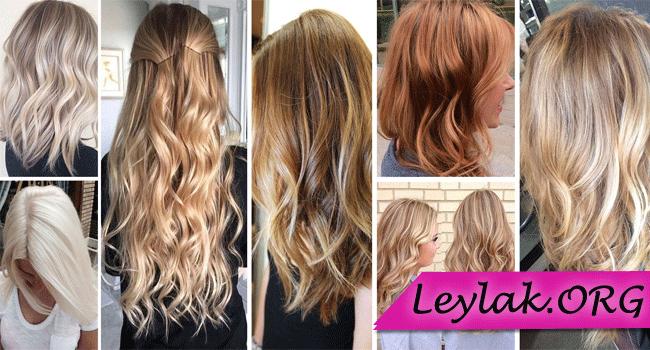 Karamel Sac Rengi Tonlari Modelleri Resimleri Blonde Hair Colour