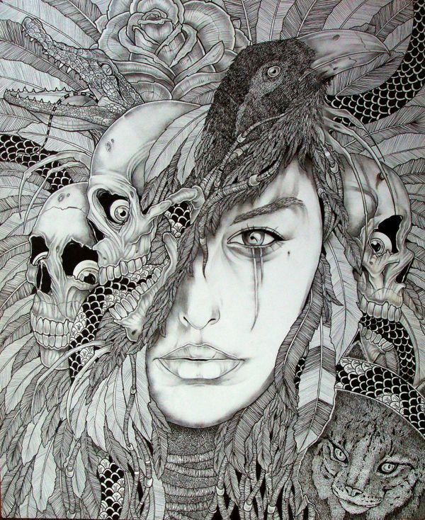 mother nature drawings - Google Search | Magic | Pinterest ...