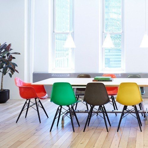 Mix + Match Chairs In The Modern Dining Room