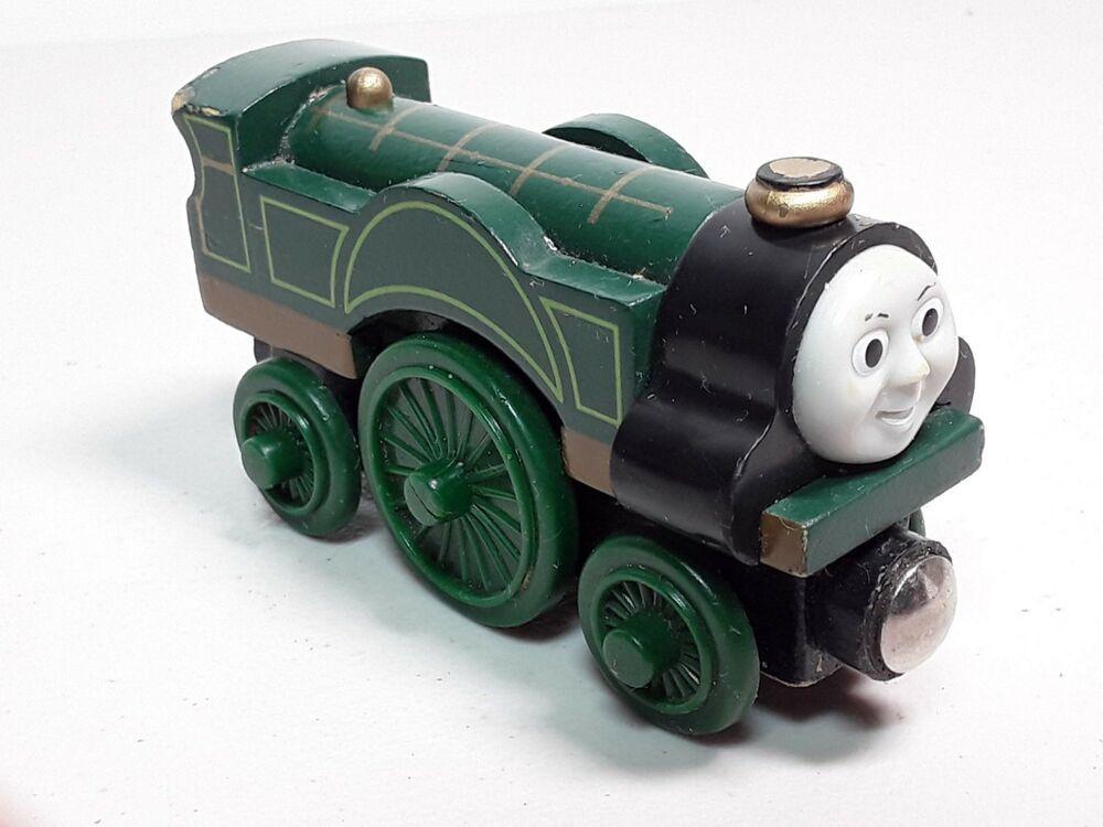 THOMAS & FRIENDS WOODEN RAILWAY - EMILY ENGINE # ...