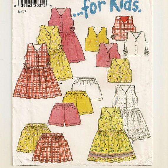 New Look 6646, A Sleeveless, V-Neckline, Full Skirt Dress, Buttoned Vest, Full Skirt & Shorts Pattern by So Sew Some!