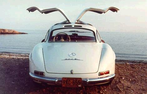 The 1955 Mercedes Benz 300SL 'Gullwing' was the first gasoline-powered car equipped with fuel injection directly into the combustion chamber. No other mass-produced car featured this until the mid-1990s when Mitsubishi Motors introduced GDI models like the Carisma.