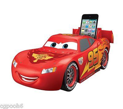 eKids Lightning McQueen Vroombox stereo speaker for iPod Cars 2 Disney Pixar mp3 https://t.co/L1nyJxk83v https://t.co/MMfFBSqpIO