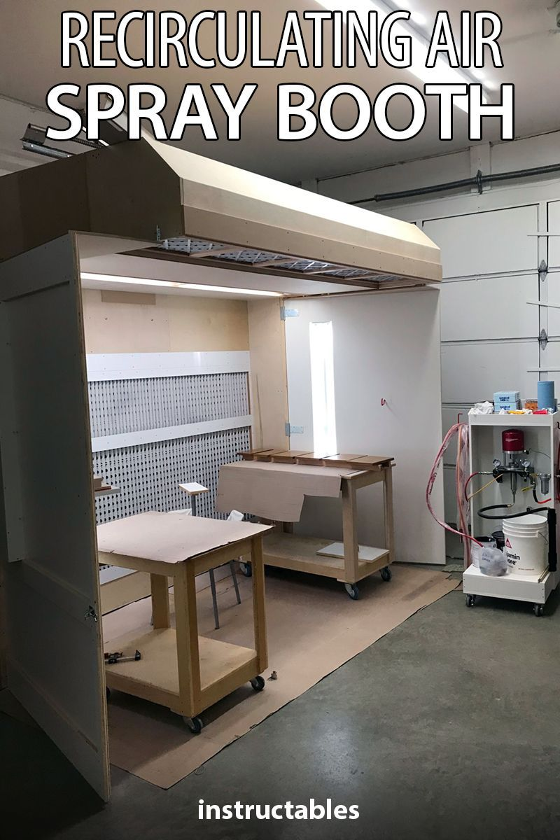 Recirculating Air Spray Booth Spray Booth Spray Booth Diy Diy