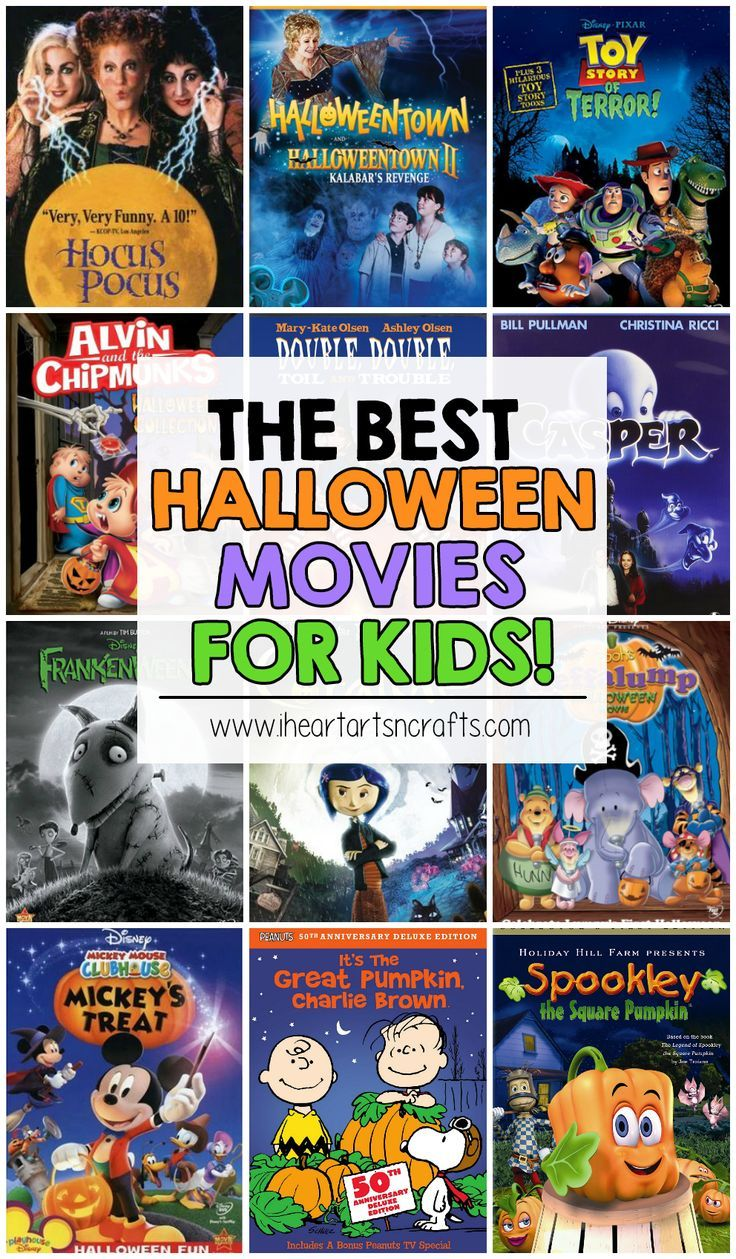 The Best Halloween Movies For Kids | Halloween movies, Holidays ...
