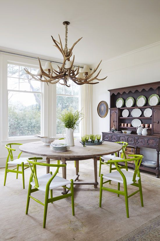 Design By Bailey McCarthy Country Living April 2015 Farmhouse Dining Room Farm Table