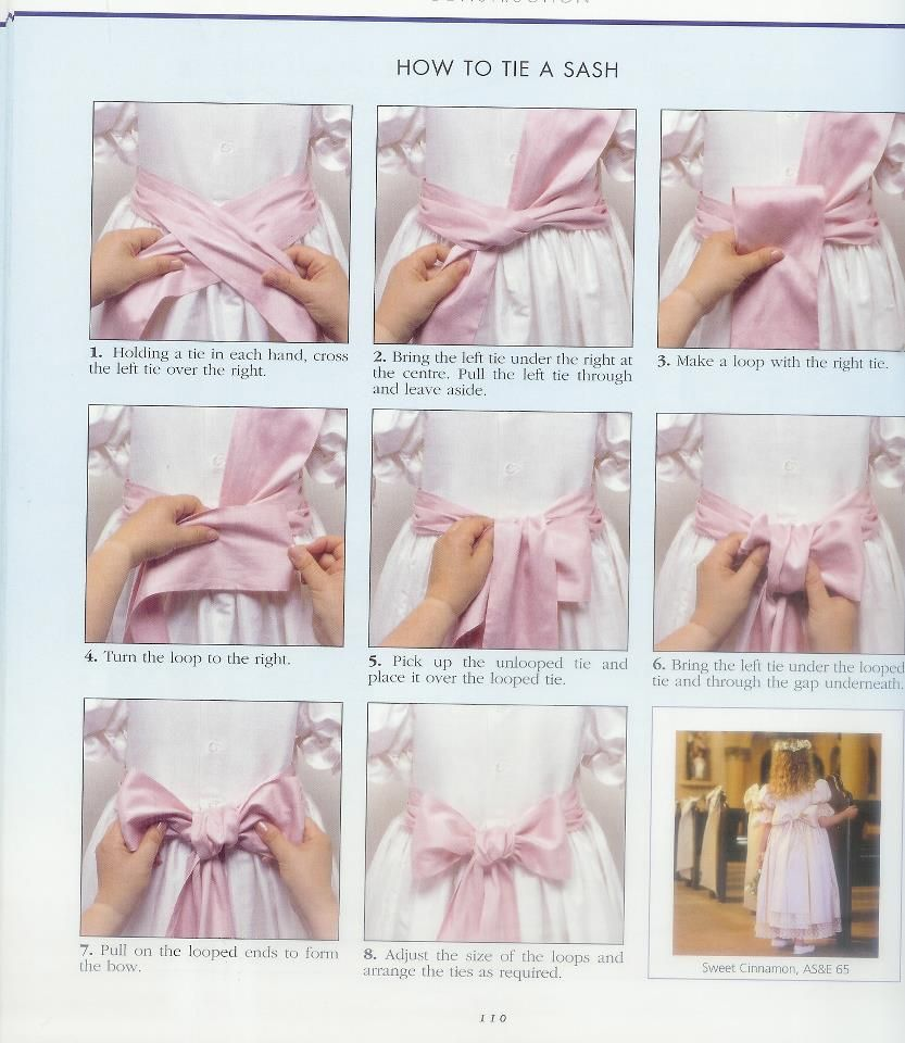 How To Tie A Bow Sewing Patterns Candy Castle Patterns Bows