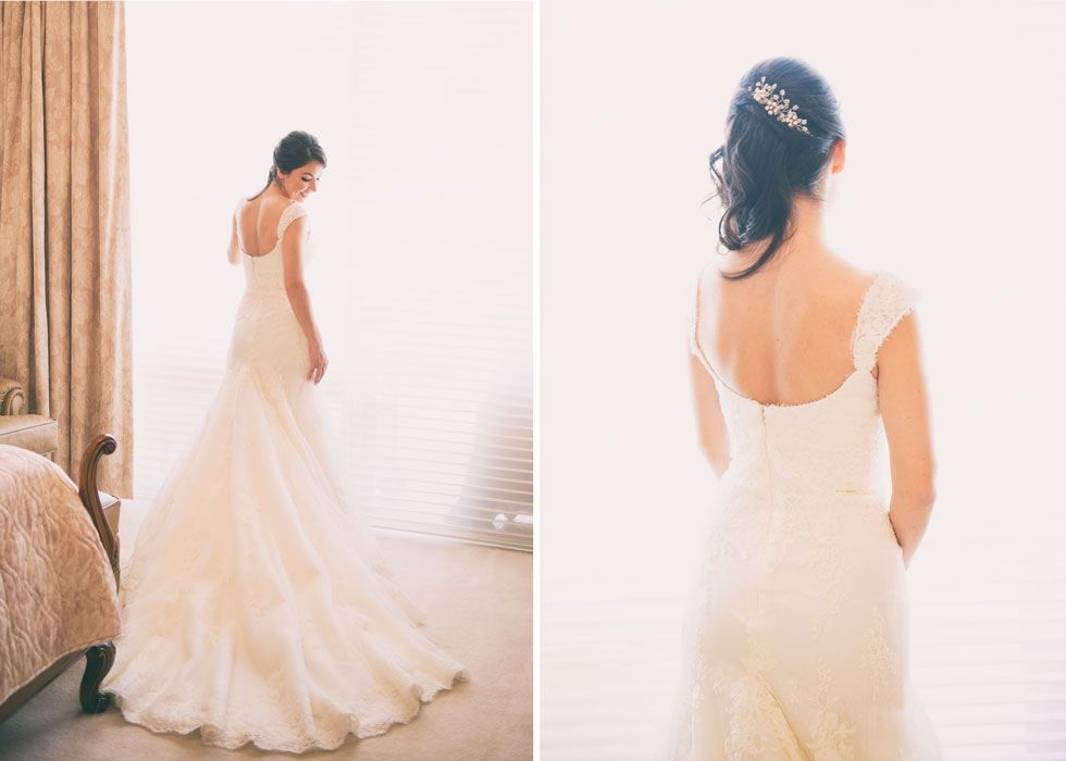 Lace wedding dress // Rubber Boots Photography, South Florida ...