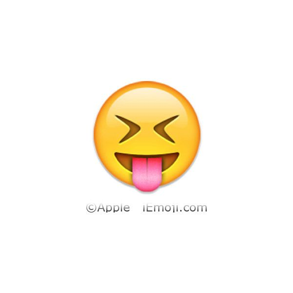 Face With Stuck Out Tongue And Tightly Closed Eyes Tongue Emoji Emoji Stitch Cartoon