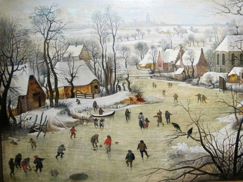 La Dynastie Brueghel  En bateau Lakevio   Hiver  Pinterest  Art Beaux arts et Peinture