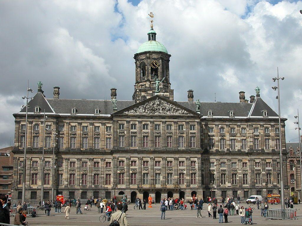Prefeitura de Amsterdam - Arquitetura Barroca.