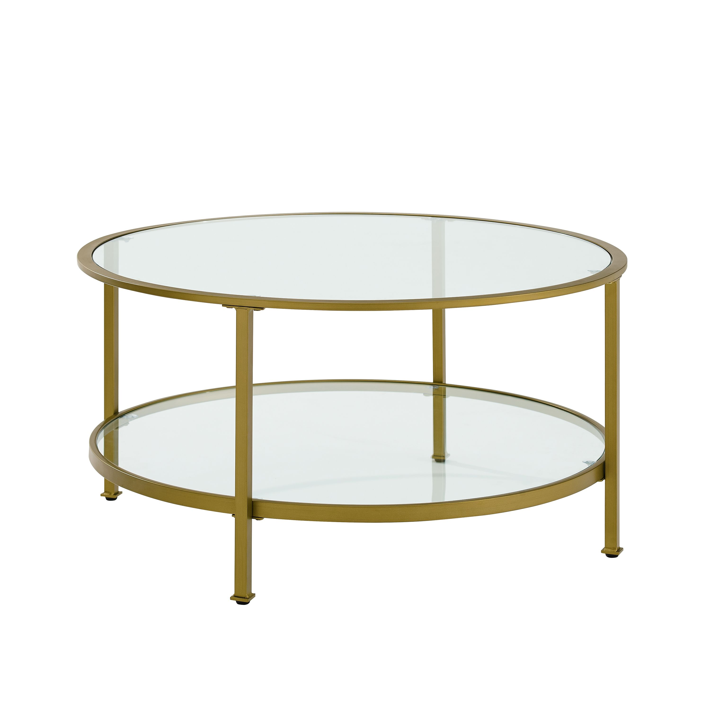 Crosley Aimee Coffee Table Ashley Furniture Homestore Coffee Table With Shelf Coffee Table Round Glass Coffee Table [ 3000 x 3000 Pixel ]