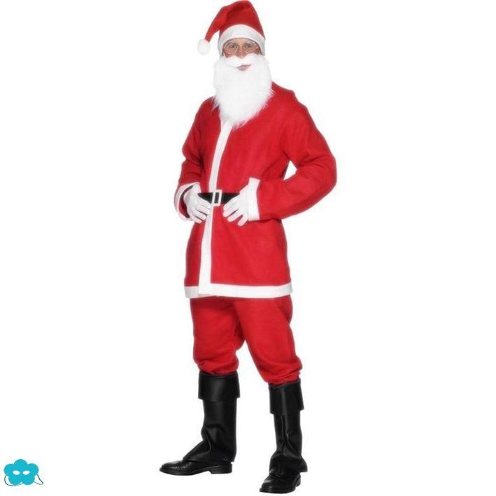 b08d9149152dc Disfraz de Santa Claus clásico para hombre