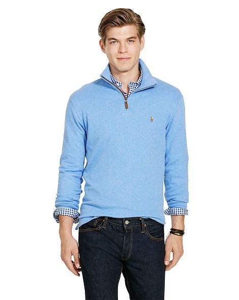 Estate-Rib Cotton Pullover - Polo Ralph Lauren The Best of Polo ...