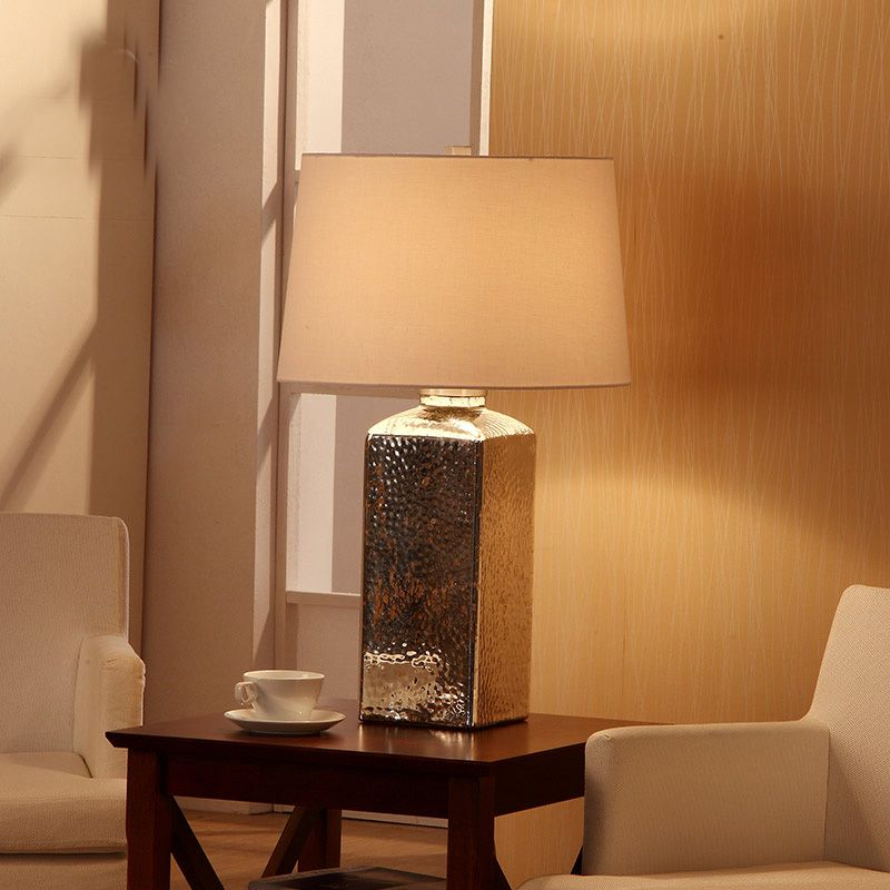Vintage led table lamp plating silven glass table bedside lamp vintage led table lamp plating silven glass table bedside lamp nightstand desk light touch switch abajur aloadofball Image collections