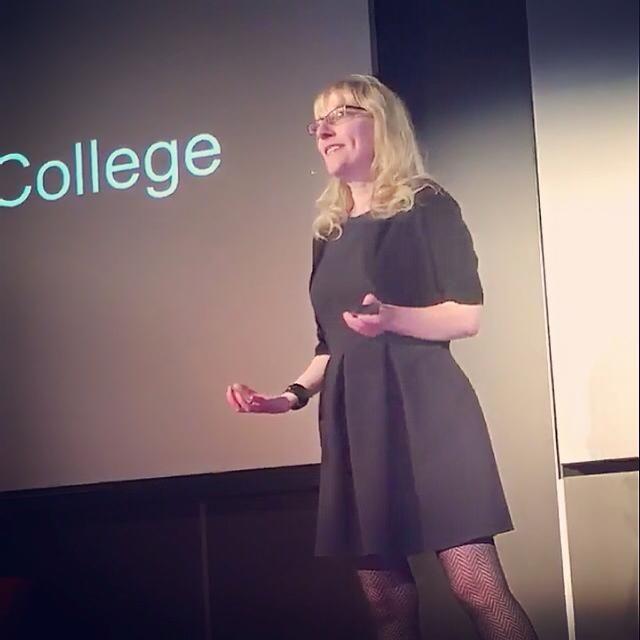 In her insightful talk, Gretchen Miller, Art Therapist and ...