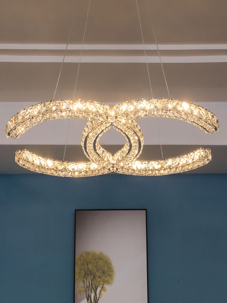 Coco Chanel Crystal Chandelier Cheap In 2020 Round Crystal Chandelier Crystal Chandelier Chandelier
