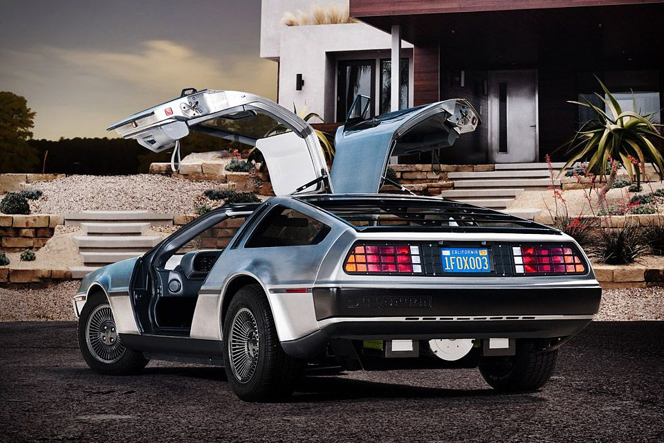 Electric DeLorean - developed by the DeLorean Motor Company of Texas and electric car startup Epic EV. Unfortunately it's not available until 2013.