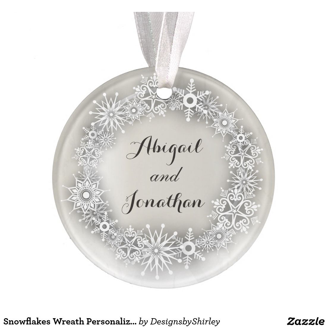 Create your own Acrylic Ornament | Zazzle.com ...