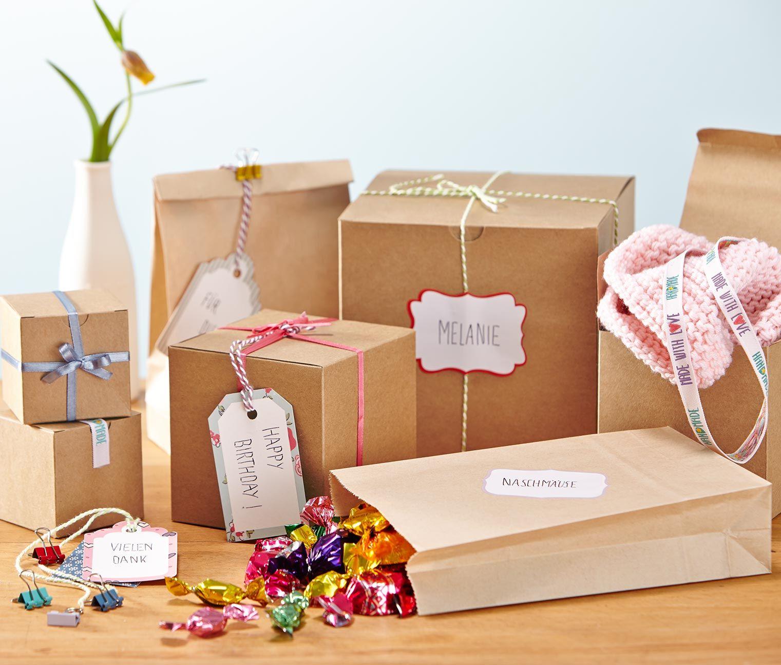 Súprava na balenie darčekov 318204 z e-shopu Tchibo.sk