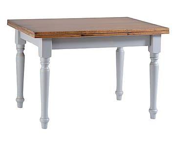 Tavolo Grigio ~ Tavolo allungabile in legno dorica grigio max 200x78x80 cm