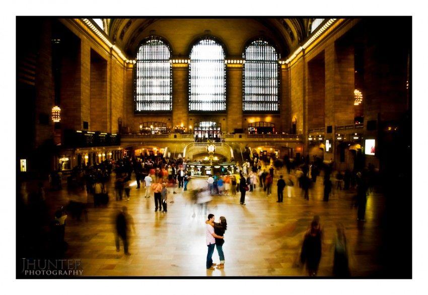 New York engagement, Grand Central Station
