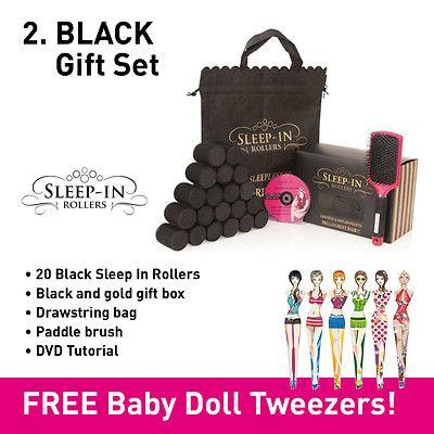 VELCRO FOAM SNOOZE SLEEP IN HAIR ROLLERS - GIFT SETS - FULL RANGE - FREE GIFTS | eBay