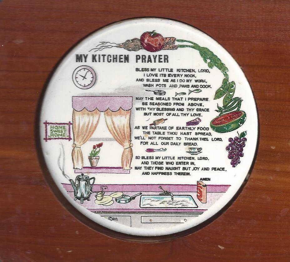 Kitchen Prayer Quotes: My Kitchen Prayer Bless My Little Kitchen, Lord, I Love It