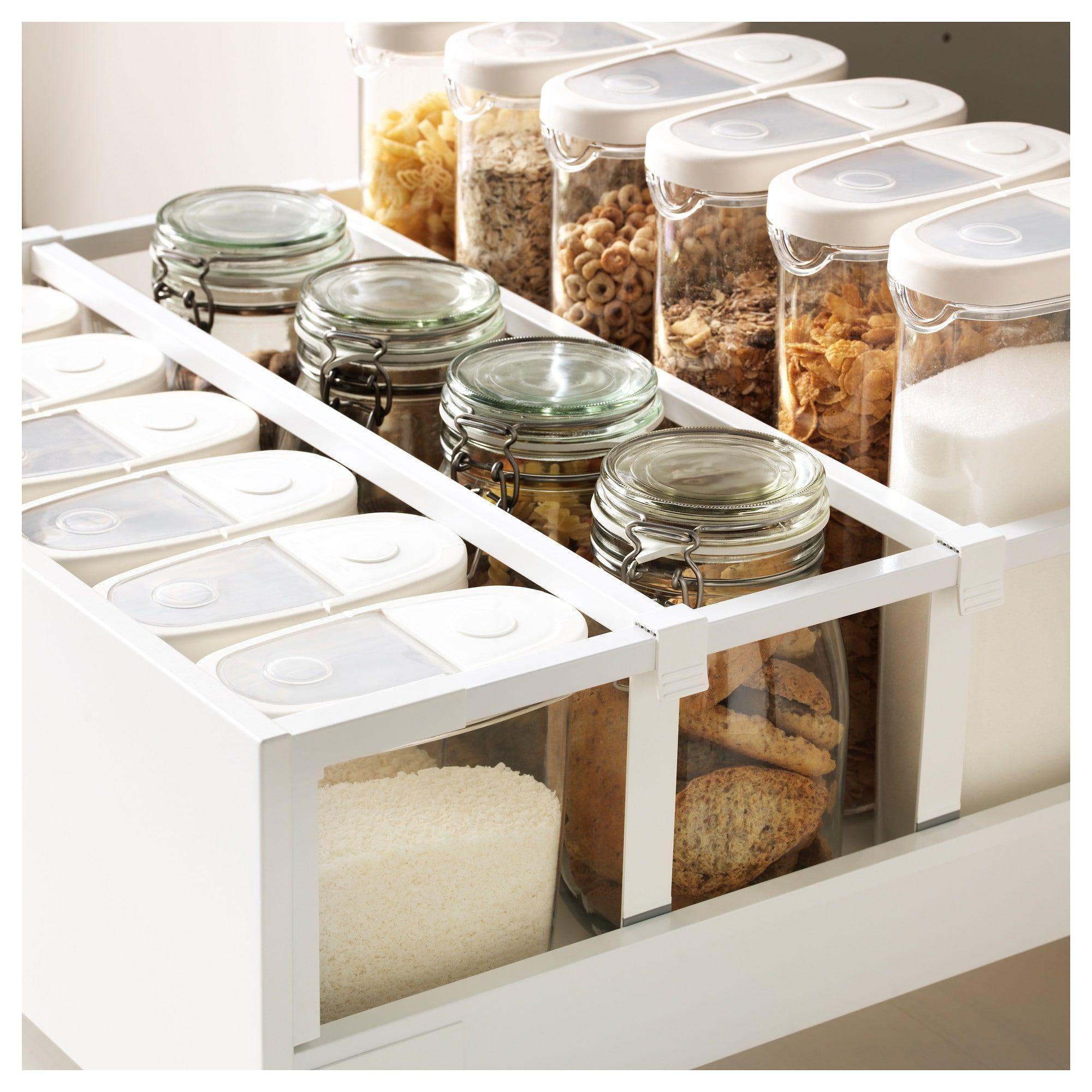 Photo of METOD / MAXIMERA mobile alto con cassetti – bianco, bodbyn bianco avorio – IKEA austria