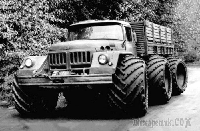 Сумасшедшие грузовики СССР : самые необычные эксперименты