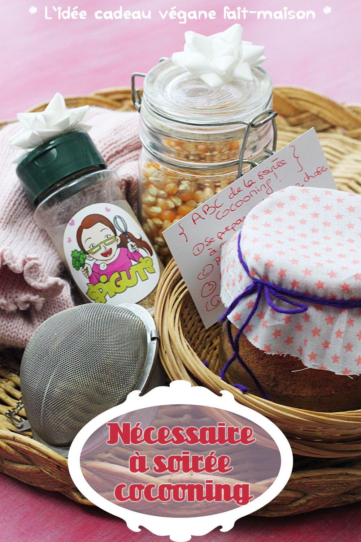 Cadeaux Fait Maison Pour Noel cadeau gourmand : nécessaire vegan à soirée cocooning