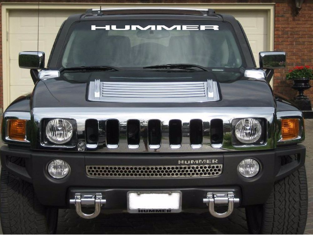 HUMMER H3 WINDSHIELD DECAL | eBay Motors, Parts & Accessories, Car