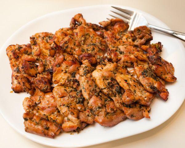 Thai-Grilled Chicken Thighs