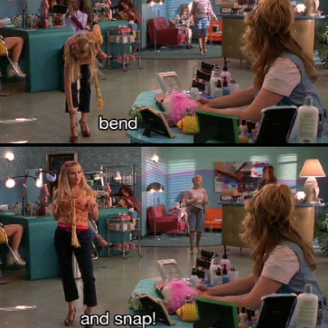 #ReeseWitherspoon as #ElleWoods in #LegallyBlonde