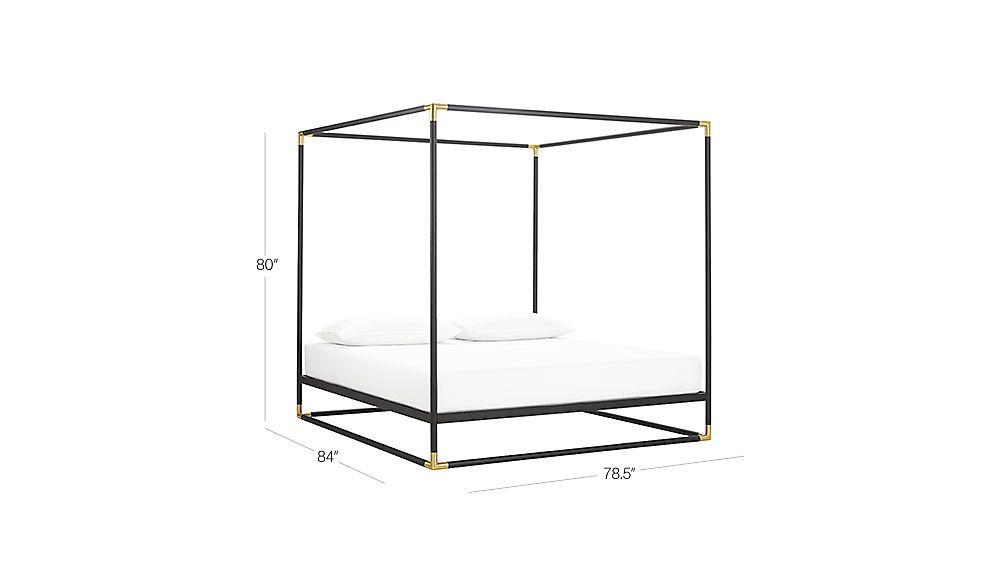Frame canopy bed in 2018   Badkamer   Pinterest - Canopy, Bed en ...
