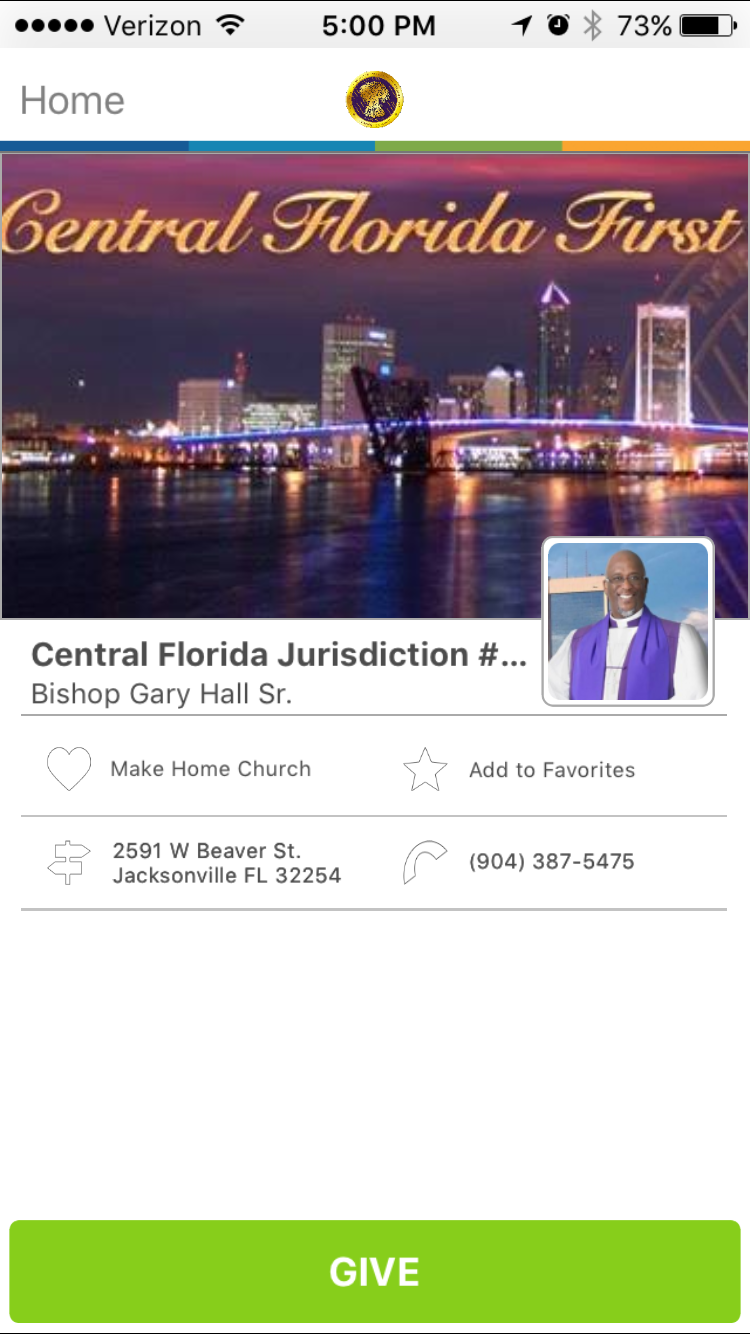 Central Florida Jurisdiction #1 COGIC in Jacksonville, FL