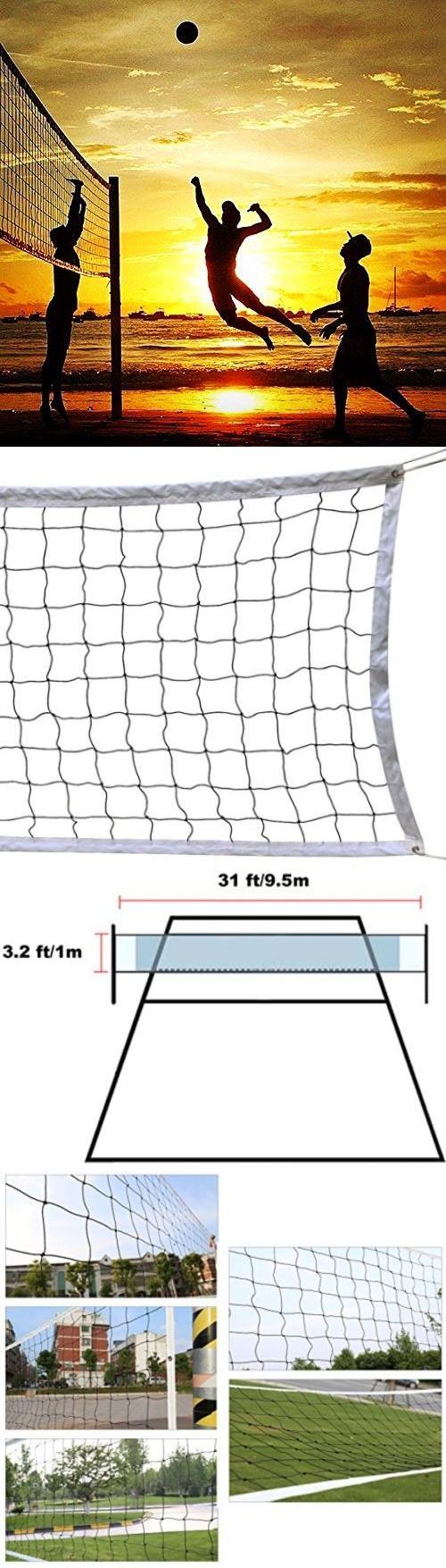 nets 159131 classic volleyball net outdoor sport schoolyard beach