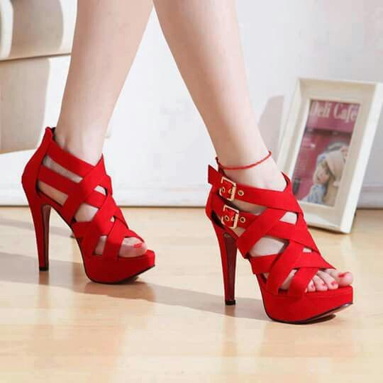 Beautiful red shoes
