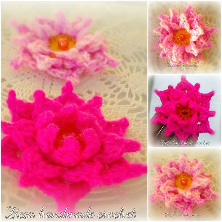 Crochet Flower Diagram Crochet Flowers Diagram And Crochet