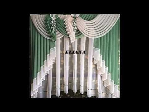 Modelos de cortinas para salas youtube cortinas para for Ver modelos de cortinas