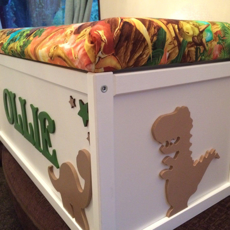 Wooden Toy Box Dinosaur Toy Chest Storage Box Toy Storage Personalised Toy Box Toy Tidy Childrens To Box Wooden Toy Boxes Childrens Toy Boxes Diy Toy Box