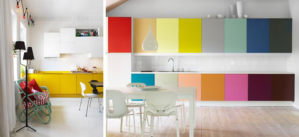 Design Trend Colorful Kitchens Designer Tips For Incorporating This Trend  Into Your Own Home