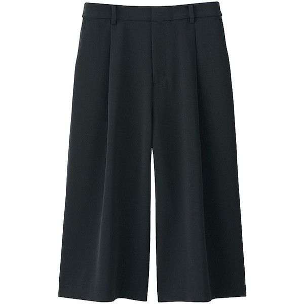 WOMEN Drape Gaucho Pants (2,450 INR) ❤ liked on Polyvore ...