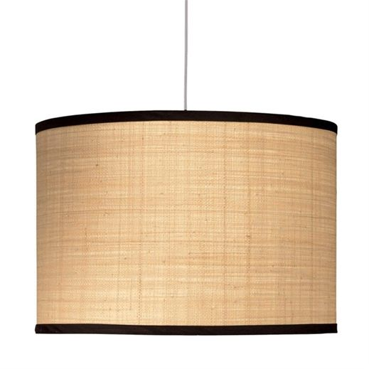 jamie young lighting lamp shade open drum extra large foyer for