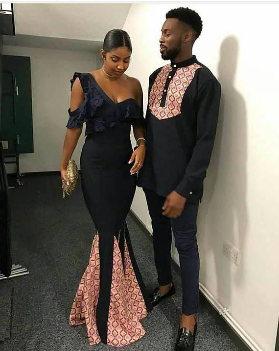 2237bdfb220 Couples… African couple outfit
