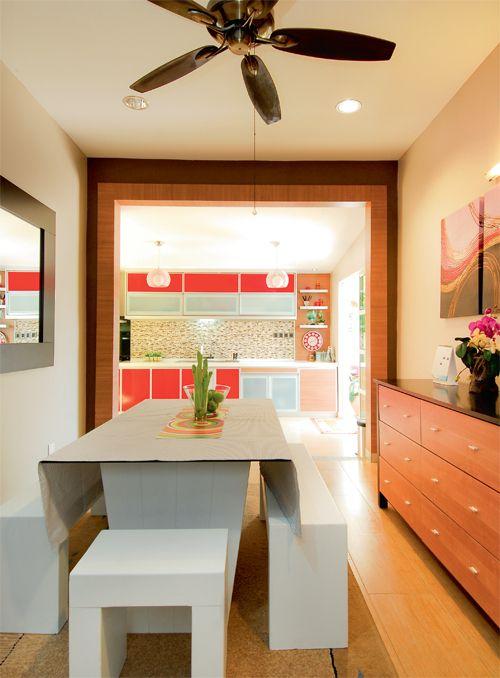 Dapur Pilihan Banglo Ruang Dibina Terhubung Secara Langsung Dengan Makan Pemilik Mahu