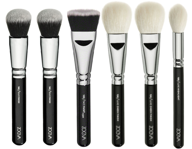 Zoeva Face Brushes Face brush, Makeup brushes, Brush